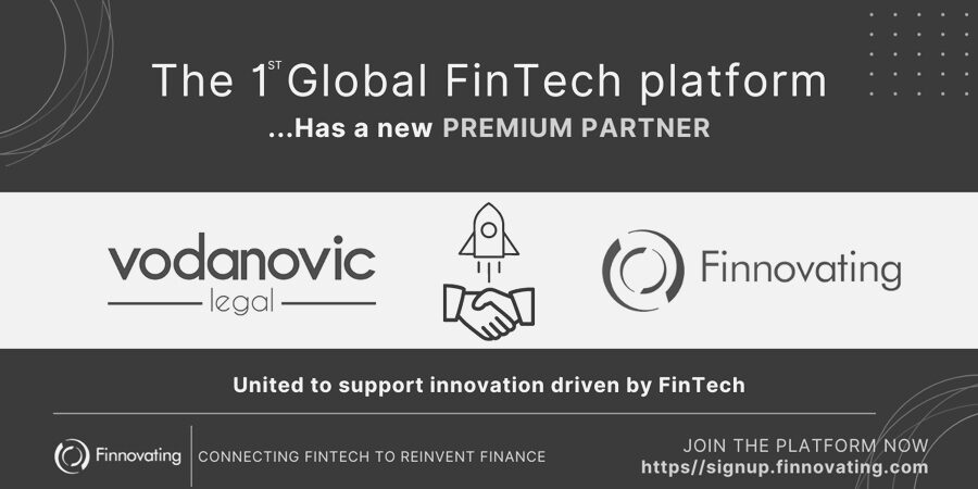 Finnovating welcomes its newest premium member, Vodanovic Legal!